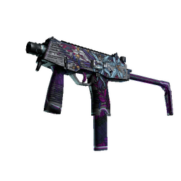 MP9 | Wild Lily (Battle-Scarred)
