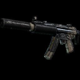 MP5-SD | Desert Strike (Battle-Scarred)