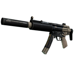 StatTrak™ MP5-SD | Desert Strike (Well-Worn)