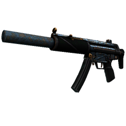 StatTrak™ MP5-SD | Acid Wash (Well-Worn)