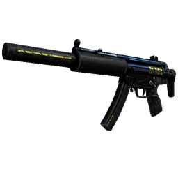 StatTrak™ MP5-SD | Agent (Battle-Scarred)