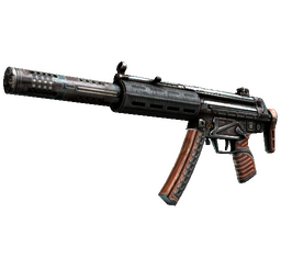 StatTrak™ MP5-SD | Gauss (Battle-Scarred)
