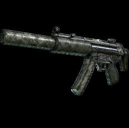 MP5-SD | Bamboo Garden (Battle-Scarred)