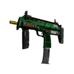 StatTrak™ MP7 | Powercore (Battle-Scarred)
