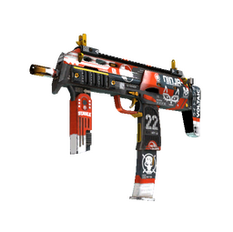 StatTrak™ MP7 | Bloodsport (Factory New)