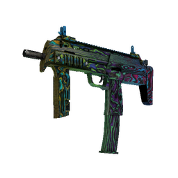 MP7 | Neon Ply (Battle-Scarred)