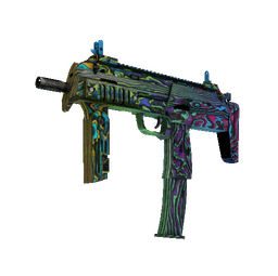 MP7 | Neon Ply (Minimal Wear)