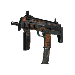 MP7 | Orange Peel (Battle-Scarred)