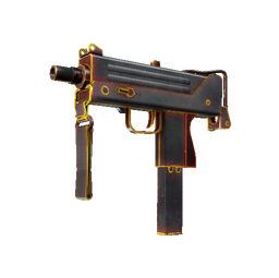 MAC-10 | Heat (Well-Worn)