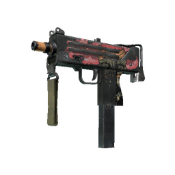 MAC-10 | Curse (Battle-Scarred)