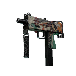 StatTrak™ MAC-10 | Allure (Battle-Scarred)