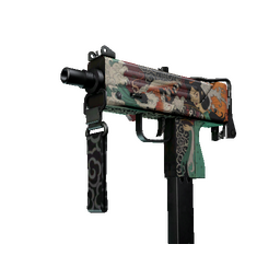 StatTrak™ MAC-10 | Allure (Well-Worn)