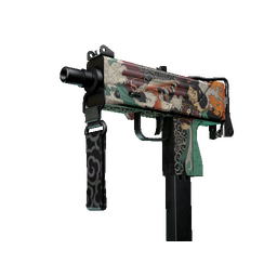 StatTrak™ MAC-10 | Allure (Minimal Wear)