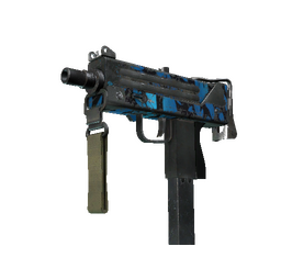 MAC-10 | Oceanic (Battle-Scarred)