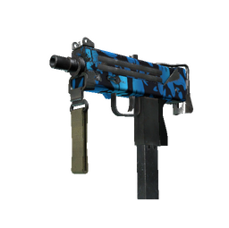 MAC-10 | Oceanic (Well-Worn)