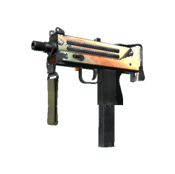 Souvenir MAC-10 | Amber Fade (Field-Tested)