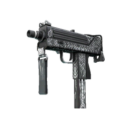 MAC-10 | Whitefish (Well-Worn)