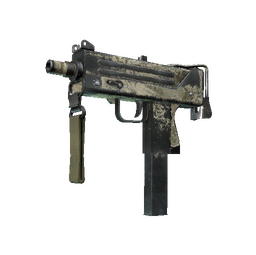 Souvenir MAC-10 | Palm (Battle-Scarred)
