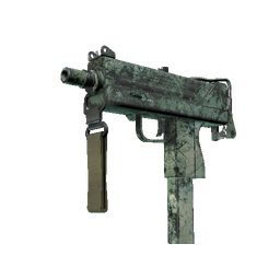 MAC-10 | Surfwood (Battle-Scarred)