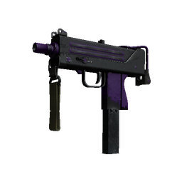 StatTrak™ MAC-10 | Ultraviolet (Well-Worn)
