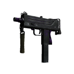 StatTrak™ MAC-10 | Ultraviolet (Battle-Scarred)