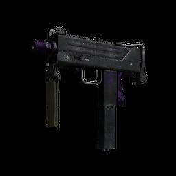 MAC-10 | Ultraviolet (Battle-Scarred)
