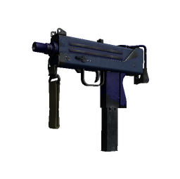 Souvenir MAC-10 | Indigo (Well-Worn)