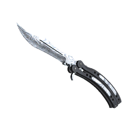 ★ StatTrak™ Butterfly Knife | Damascus Steel (Minimal Wear)
