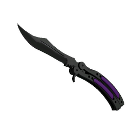 ★ Butterfly Knife | Ultraviolet (Minimal Wear)