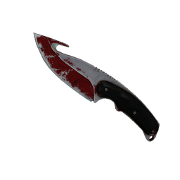 ★ StatTrak™ Gut Knife | Crimson Web (Battle-Scarred)