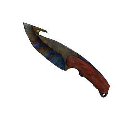 ★ StatTrak™ Gut Knife | Case Hardened (Battle-Scarred)
