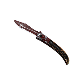 ★ Navaja Knife | Crimson Web (Battle-Scarred)