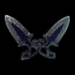 ★ Shadow Daggers   Freehand (Battle-Scarred)
