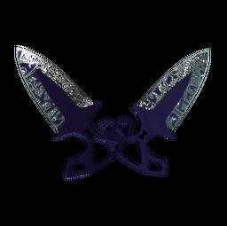 ★ Shadow Daggers | Freehand (Minimal Wear)