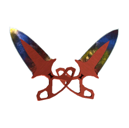 ★ StatTrak™ Shadow Daggers | Marble Fade (Factory New)