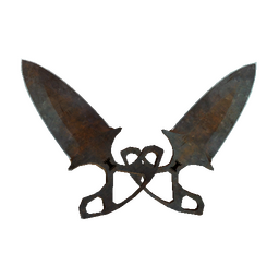 ★ StatTrak™ Shadow Daggers | Rust Coat (Battle-Scarred)