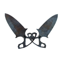 ★ StatTrak™ Shadow Daggers | Rust Coat (Well-Worn)
