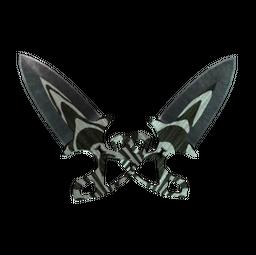 ★ Shadow Daggers   Black Laminate (Minimal Wear)