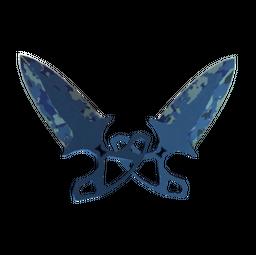 ★ StatTrak™ Shadow Daggers | Bright Water (Field-Tested)