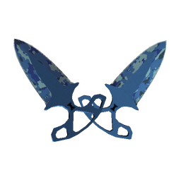 ★ StatTrak™ Shadow Daggers | Bright Water (Factory New)