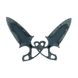 ★ StatTrak™ Shadow Daggers | Night (Battle-Scarred)