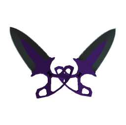 ★ Shadow Daggers | Ultraviolet (Minimal Wear)