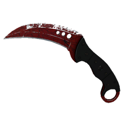 ★ StatTrak™ Talon Knife | Crimson Web (Well-Worn)