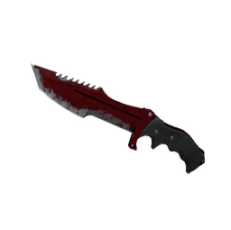 ★ StatTrak™ Huntsman Knife | Crimson Web (Battle-Scarred)