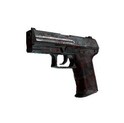 P2000 | Red FragCam (Battle-Scarred)