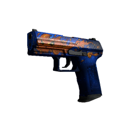 P2000 | Fire Elemental (Well-Worn)