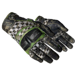 ★ Moto Gloves | Finish Line (Battle-Scarred)