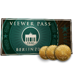 Berlin 2019 Viewer Pass + 3 Souvenir Tokens