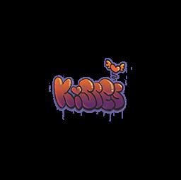 Sealed Graffiti | Kisses