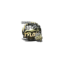Sticker | TYLOO (Gold) | 2020 RMR
